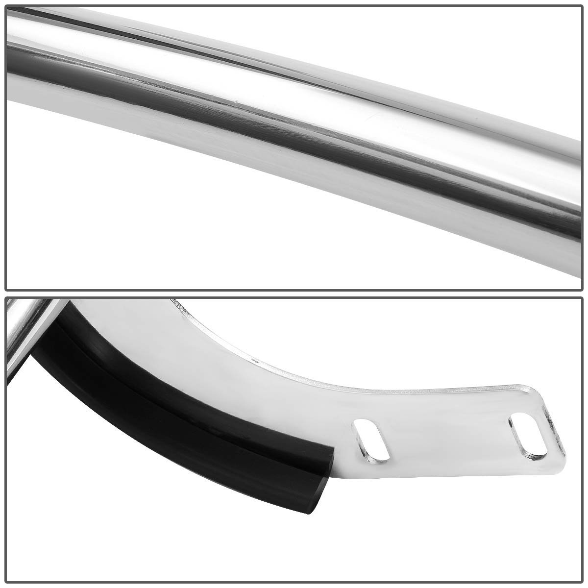 05 10 Honda Odyssey Stainless Steel Double Bar Rear Bumper Protector Off Road Guard For Minivan Chrome