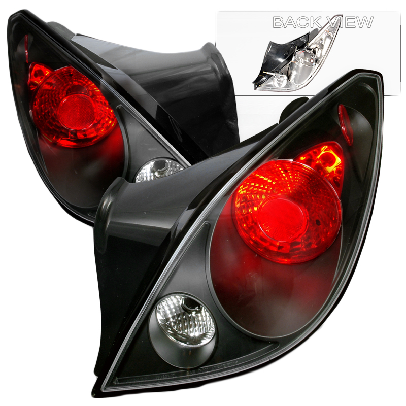 G6 Led Lights : Pontiac g coupe euro style altezza tail lights black