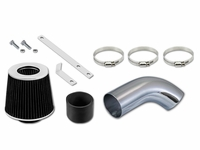 06-08 Audi A3 2.0L L4 Turbo Short Ram Air Intake Kit - Black