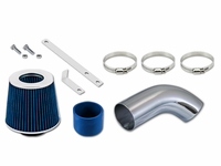 05-07 Volkswage Golf 2.0L L4 Turbo / 06-08 Jetta / Passat 2.0L L4 Turbo Short Ram Air Intake Kit - Blue