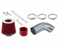05-07 Volkswage Golf 2.0L L4 Turbo / 06-08 Jetta / Passat 2.0L L4 Turbo Short Ram Air Intake Kit - Red