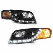 Audi A Euro Style Projector Headlights Headlamps - 2006 audi a4 headlights