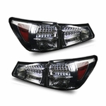 06-08 Lexus IS250/IS350 LED Tail Lights - Smoked