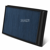 06-09 Land Rover Range Rover 4.2L / 4.4L Reusable & Washable Replacement High Flow Drop-in Air Filter (Blue)