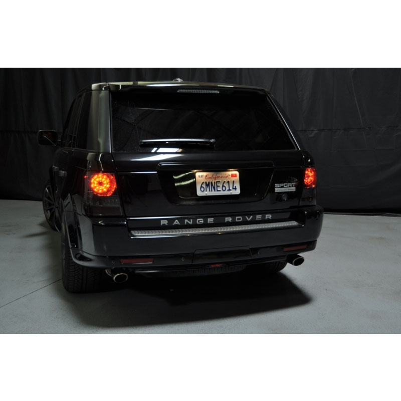06 09 land rover range rover sport led tail lights red. Black Bedroom Furniture Sets. Home Design Ideas