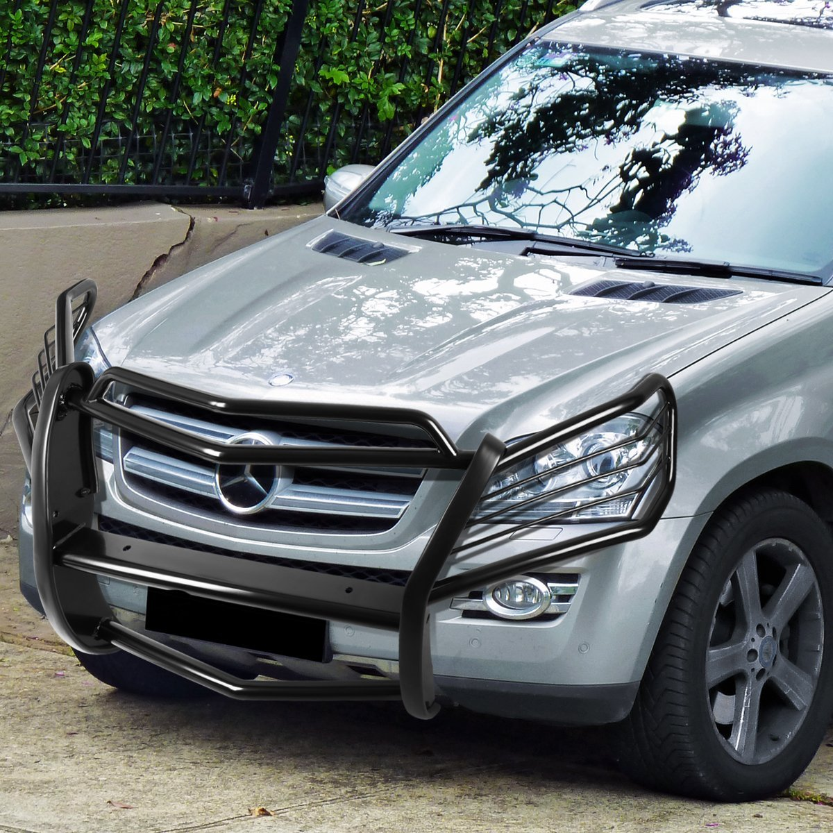 07 12 mercedes benz x164 gl class front bumper protector for Mercedes benz 07