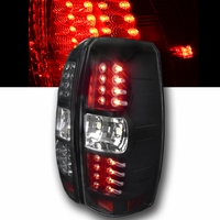 Spec-D 07-13 Chevy Avalanche Performance LED Tail Lights - Black