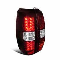 07-13 Chevy Avalanche Euro Style LED Tail Lights - Red / Clear