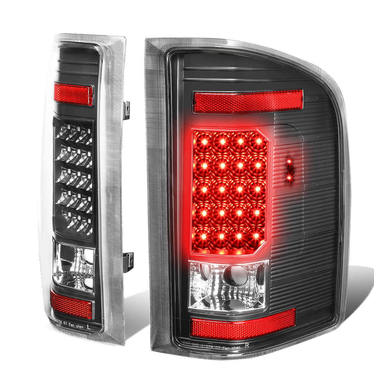 07-13 Chevy Silverado / GMC Sierra LED Tail Lights