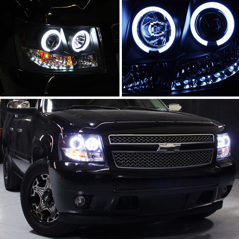 07 14 Chevy Suburban Tahoe Avalanche Angel Eye Halo