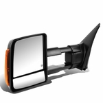 07-16 Toyota Tundra Power / Heated / Amber Signal Towing Side Mirror  - Left Driver Side