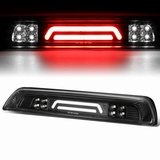 07-18 Toyota Tundra 3D LED Bar 3rd Third Brake Light Rear Cargo Lamp (Black / Clear)