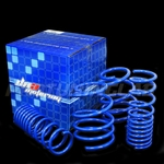 "08-11 Subaru Impreza WRX/ STI 1.5"" Drop Suspension Lowering Springs - Blue"