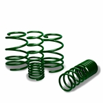 "08-11 Subaru Impreza WRX/ STI 1.5"" Drop Suspension Lowering Springs - Green"