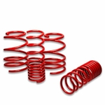 "08-11 Subaru Impreza WRX/ STI 1.5"" Drop Suspension Lowering Springs - Red"