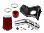 08-14 Subaru WRX/STI 2.5L Turbo Cold Air Intake Kit - Red