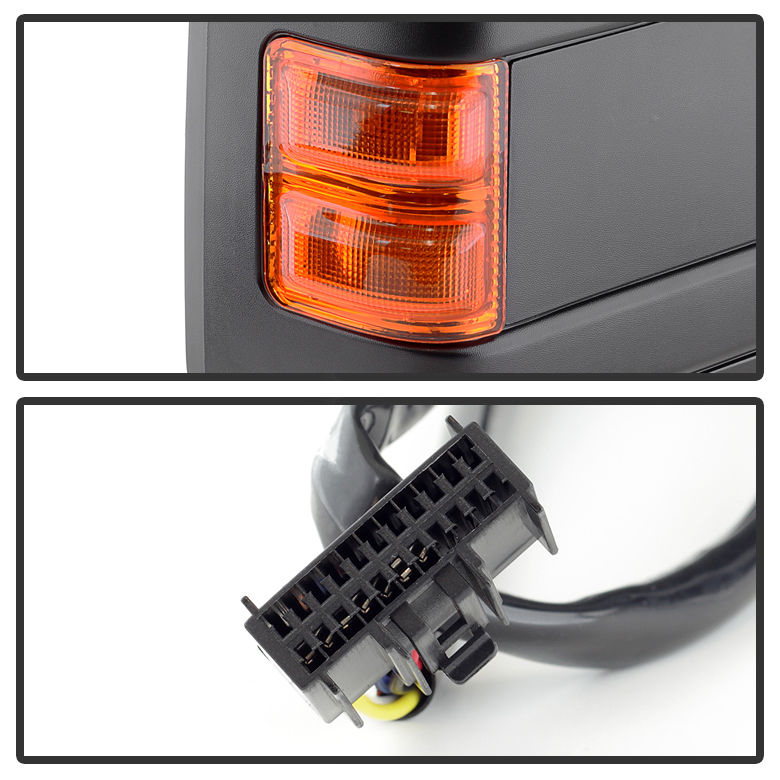 wiring diagram for 2010 f 350 driver mirror wiring diagrams 2005 ford f350 wiring diagram 0816 ford f250 f350 f450 f550 superduty power heated turnsignal towing side mirror wiring diagram