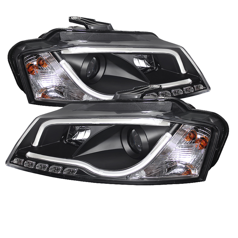 09-12 Audi A3 Drl Led  Rs5 Style  Projector Headlights