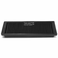 09-13 Audi A3 Quattro / VW Jetta 2.0T Reusable & Washable Replacement High Flow Drop-in Air Filter (Black)