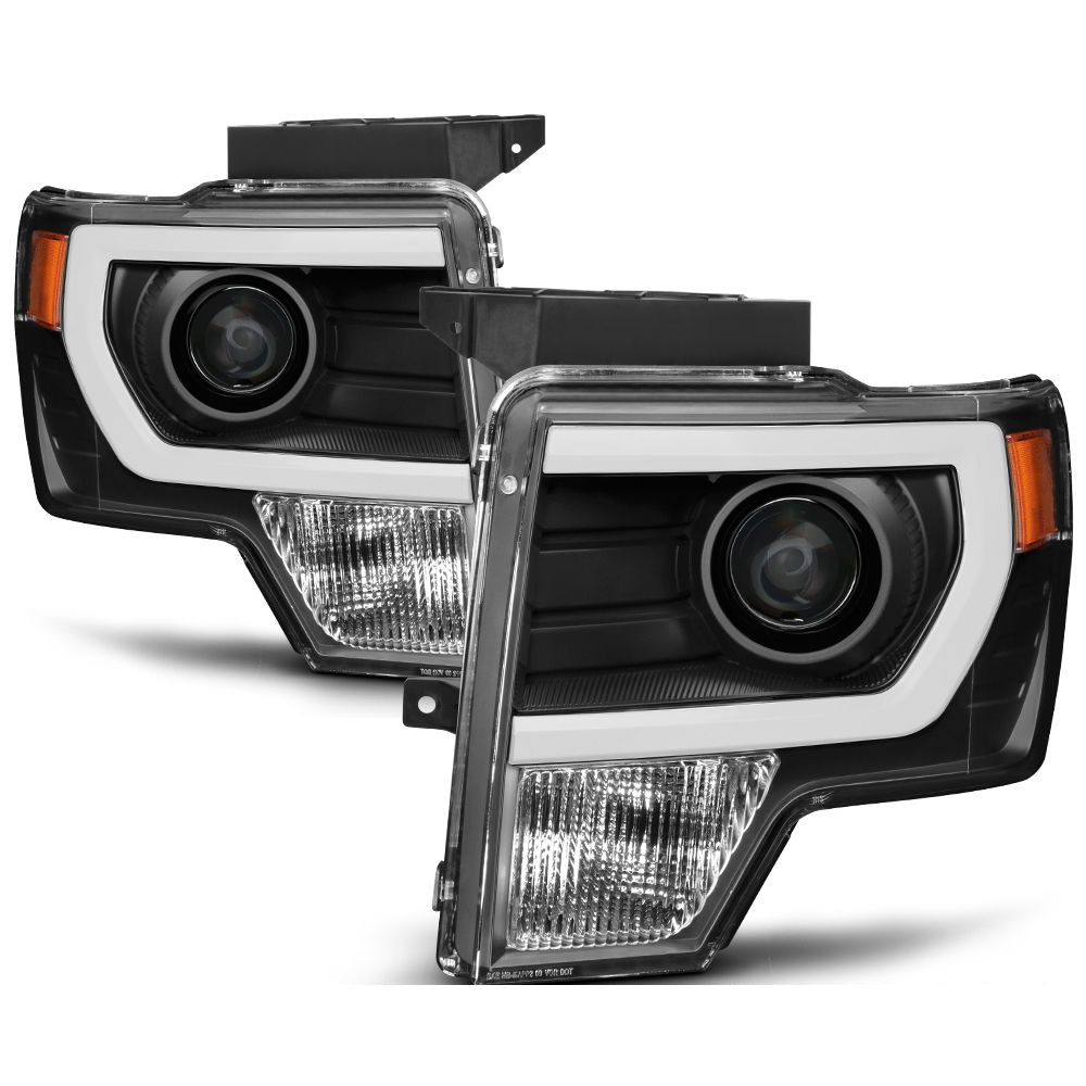 09 14 Ford F150 Raptor Style Led Drl Projector