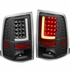 09-17 Dodge Ram 1500/2500/3500 3D LED-Bar Tail Brake Lights (Black Housing Clear Lens)