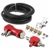 1-30 psi Adjustable Manual Turbo Bypass Boost Controller - Red