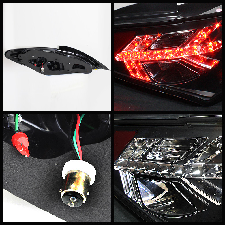 10 12 hyundai genesis coupe euro style led tail lights smoked 111 hygen09 led sm by spyder. Black Bedroom Furniture Sets. Home Design Ideas