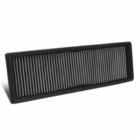 10-14 VW Golf / Beetle / Jetta / Passat / Rabbit Reusable & Washable Replacement Engine High Flow Drop-in Air Filter (Silver)