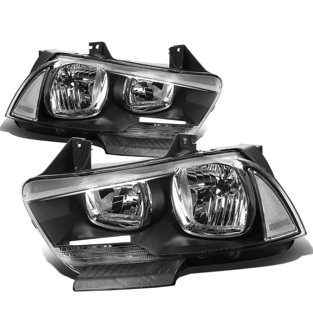 11 14 Dodge Charger Halogen Model Replacement Crystal