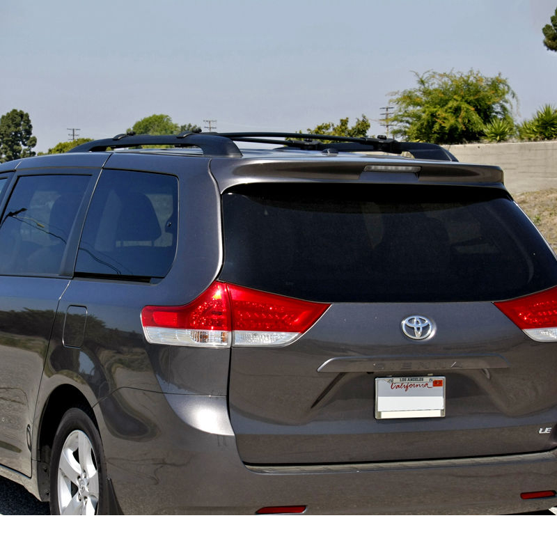11 17 Toyota Sienna Replacement Black Roof Top Cross Bars
