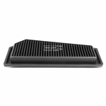 12-15 Mercedes Benz C250 / SLK250 1.8T Reusable & Washable Replacement High Flow Drop-in Air Filter (Black)