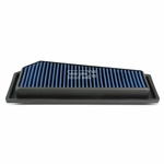 12-15 Mercedes Benz C250 / SLK250 1.8T Reusable & Washable Replacement High Flow Drop-in Air Filter (Blue)