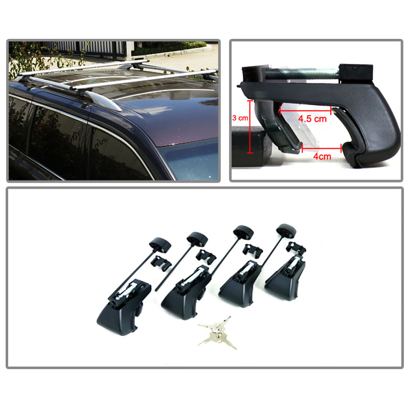 Universal 48 Quot Roof Top Cross Bars Luggage Cargo Rack For