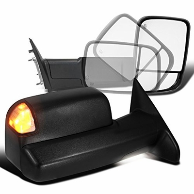 13-15 Dodge Ram 1500/2500/3500 Heat Flip Up Tow Mirrors ...