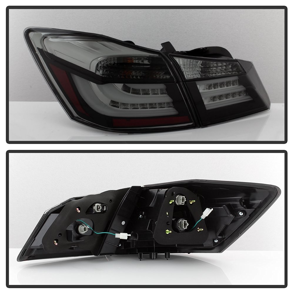 13 15 Honda Accord Sedan Performance Led Tail Lights Black Smoked 2010 Light Swapledwiringjpg