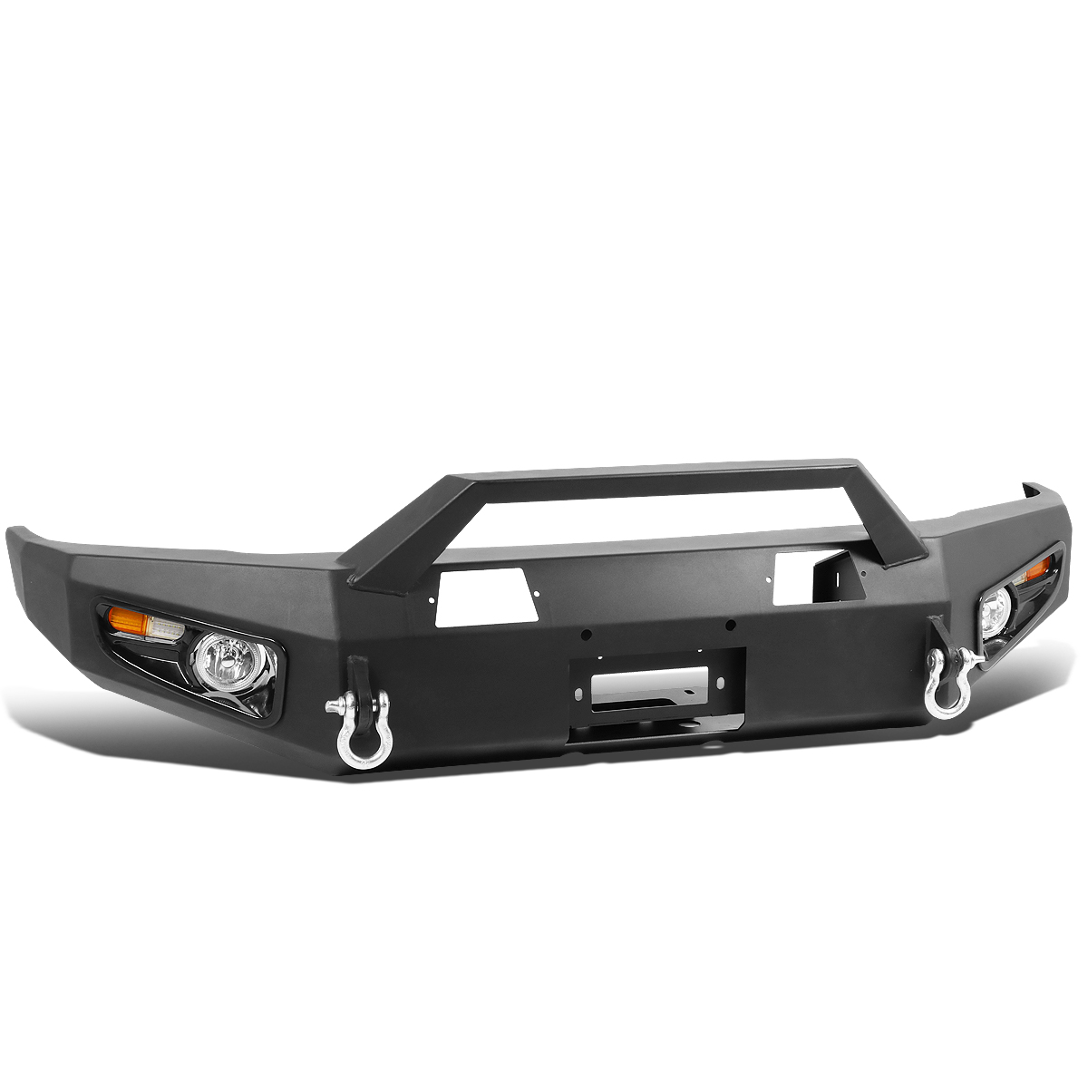 14 17 Toyota Tundra Front Bumper Protector Grill Guard W Shackles Led Drl Switch Wiring Turn Signal Fog Lights