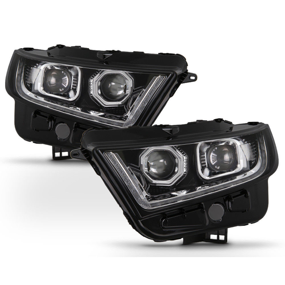 Ford Edge Sequential Led Signal Drl Projector Headlights Chrome