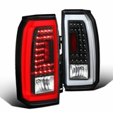 15-18 GMC Yukon / Yukon XL [Denali Model] LED Bar 3D Tail Lights - Black