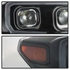 HID Xenon + 2016-17 Toyota Tacoma Sequential LED Signal / DRL Projector Headlights - Black