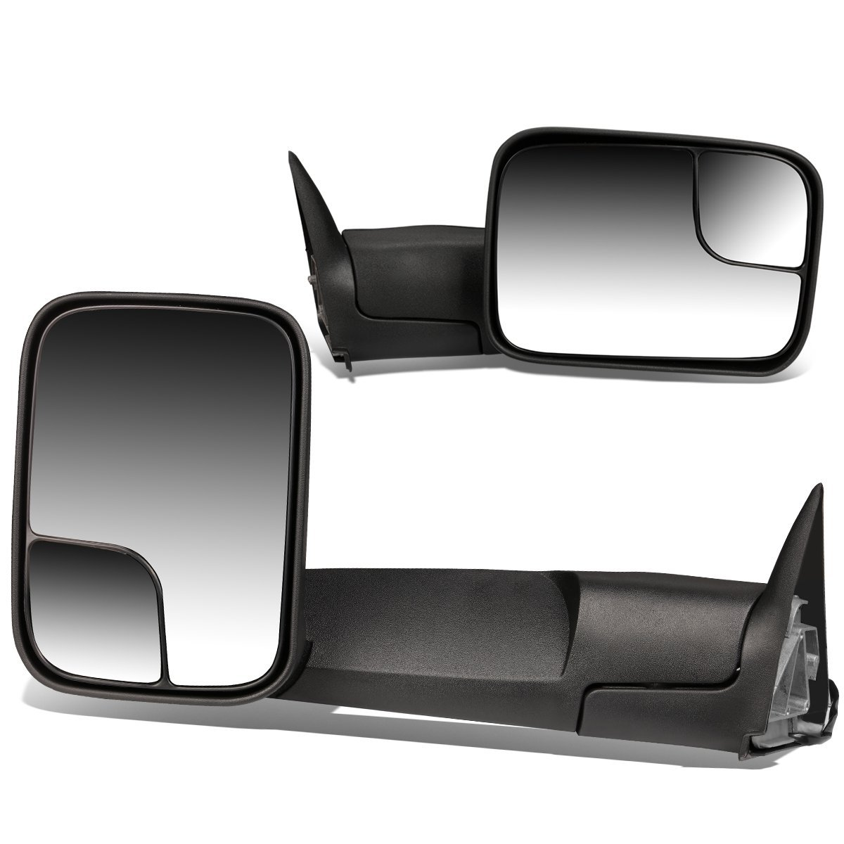 Driver Side Mirror Dodge Dynasty Dodge Dynasty Driver: 94-97 Dodge Ram [Power Adjust] Telescoping Towing Side Mirror
