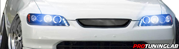 98-02 Honda Accord Angel Eye Halo Led Proiettore per proiettori Euro-5399