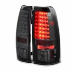 1999-2002 Chevy Silverado / 1999-2003 GMC Sierra LED Tail Lights - Smoked ALT-YD-CS99-LED-SM By Spyder