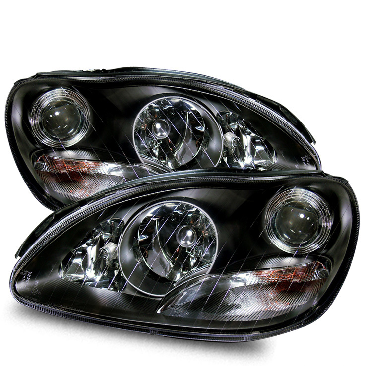 2000 2005 mercedes benz s class w220 projector headlights for Mercedes benz projector lights