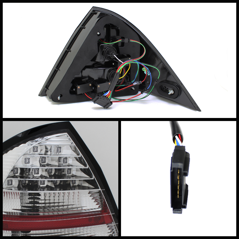2001-2004 Mercedes Benz W203 C-Class Euro Style LED Tail