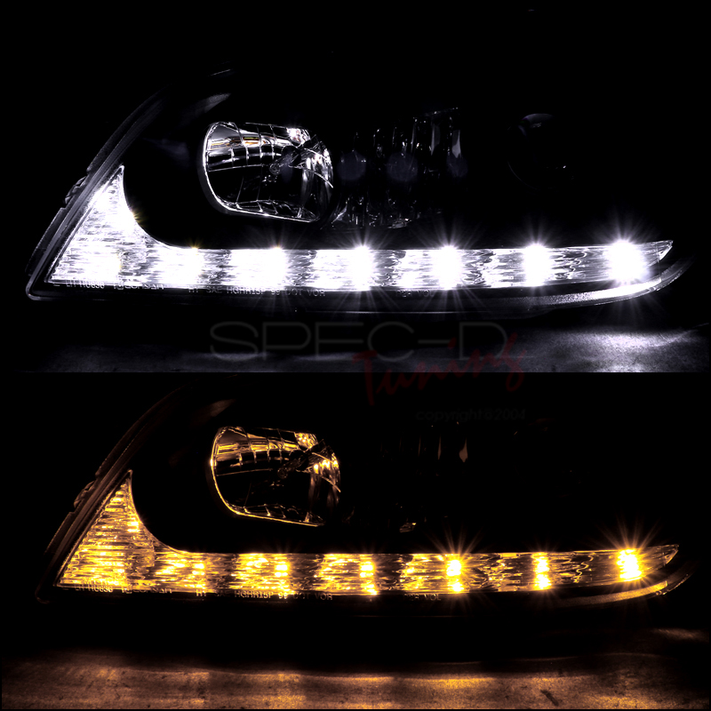 Lexus 2001 Is300 For Sale: 2001-2005 Lexus IS300 LED DRL Strip Projector Headlights