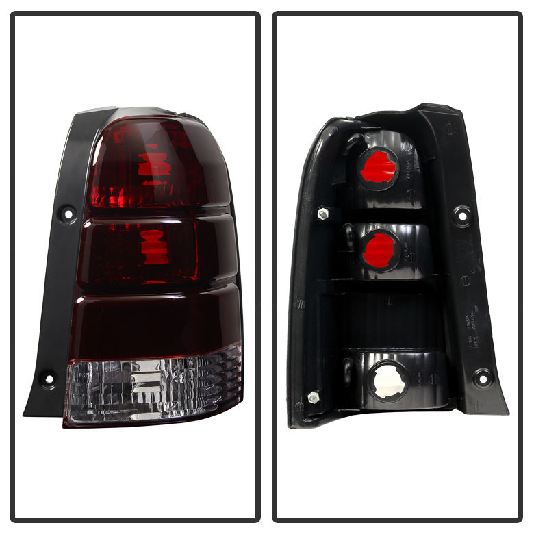 2001-2007 Ford Escape OEM Style Tail Lights Left + Right - Smoked