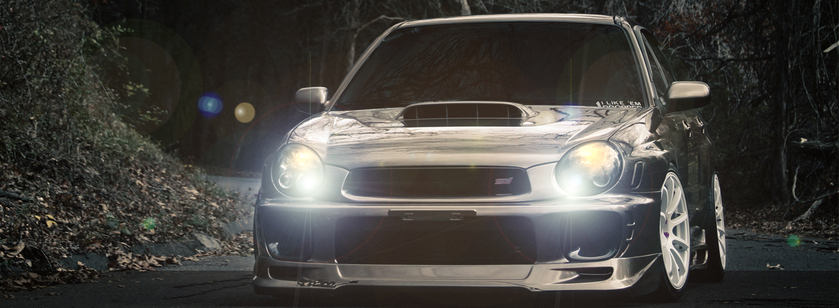 2002 2003 Subaru Impreza Wrx Halo Projector Headlights By