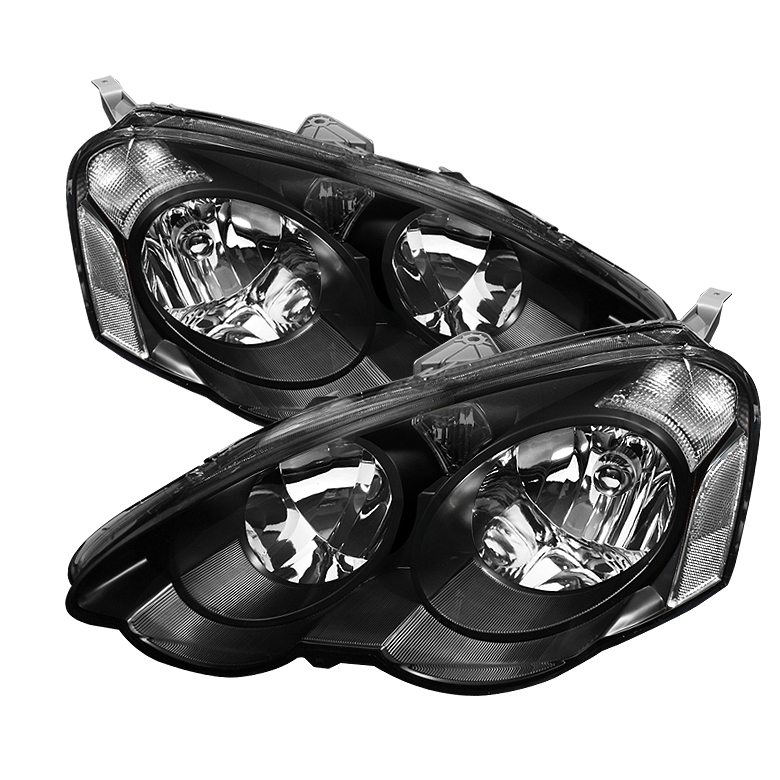 2002-2004 Acura RSX JDM Style Crystal Headlights (Clear