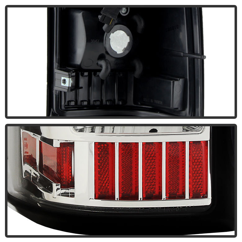 2003 2006 Chevy Silverado Gmc Sierra Performance Led Tail Lights Chrome