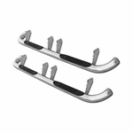 "2003-2010 Hummer H2 3"" S/S Side Step Rails NERF Bars Chrome"